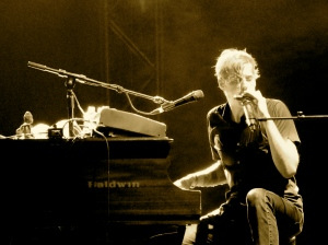 Andrew McMahon playing a show in Baltimore (2011) Photo by: Jacqueline Coleman