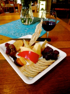 One of my favorite Virginia Winery cheese plates at Desert Rose Winery