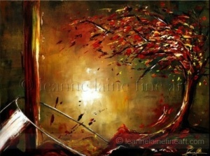 Wine Art by Leanne Laine