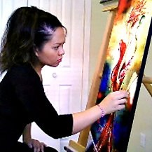 Artist Leanne Laine