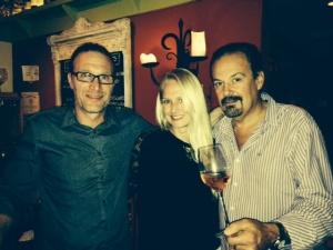 Barry Alberts & Winemaker, Jeff Musbach, Fall 2013