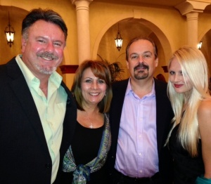 With Barry & the Schnebly's of Schnebly's Winery in Homestead, FL