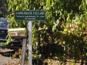 Saddleback Cellars in Oakville, CA