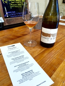 "Delicious Pinot Gris ""Orange Wine"" at Donkey & Goat"