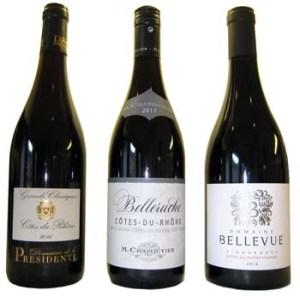 A Sampling of Economical Rhône Red Wines