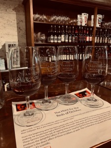 Flights Available to Taste at The Tasting Room